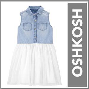 OSHKOSH 24 MONTHS DENIM TUTU DRESS